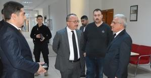 Vali Ali Fuat Atik, Kamu Kurumlarını Denetledi