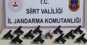 Siirt'te Jandarmadan Silah Kaçakçılarına Darbe