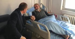 Pervari Belediye Başkanı Tayyar Özcan'dan Hasta ve Okul Ziyaretleri