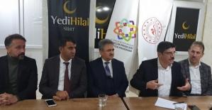 Yedihilal Siirt Şubesinin Konuğu Prof.Dr.Yasin Aktay'dı