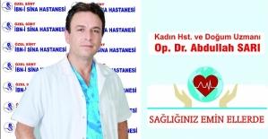 Dr. Abdullah Sarı, Rahmin Alınması Gereken Durumlar ve Cerrahi Yöntemleri İle İlgili Bilgi Verdi
