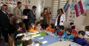Eğitim Gönüllüsü Fulya Atik, Tillo'da Eğitim Kurumlarını Ziyaret Etti