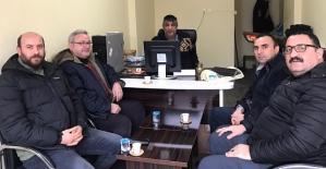 Siirt DEDAŞ İl Müdürü Naci Obut, Medya Siirt Büromuzu Ziyaret Etti
