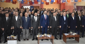 AK Parti Veysel Karani Belde'sinin 7. Olağan Kongresi Yapıldı