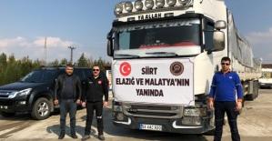 Elazığ ve Malatya#039;ya Yardım...