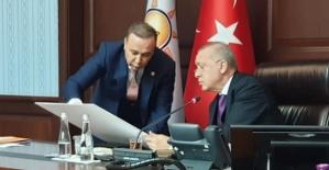 Milletvekili Ören, Cumhurbaşkanı Recep Tayyip Erdoğan'a Siirt'in Sorunlarını İletti