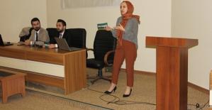 """Siirt Üniversitesinde """"İş Görüşmeleri ve Mülakatlar"""" Semineri Düzenlendi"""