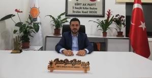 AK Parti Gençlik Kolları Başkanı Bedük'ün...