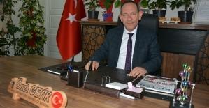AK Parti Merkez İlçe Başkanı Öner Geyik'in...
