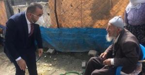 Veysel Karani Belediyesi'nden 65 Yaş Üstü Vatandaşlara Ziyaret