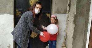 Şirvanlı Öğretmenler 23 Nisan'da Öğrencilerini Unutmadı