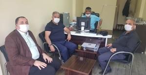Belediye Başkan Yardımcısı Canpolat, Büromuzu Ziyaret Etti