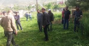 Eruh Belediyesi İlçe Mezarlığında; Çevre Düzenlemesi ve Temizlik Çalışmaları Başlattı