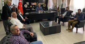Ören ve Olgaç'tan Milli Eğitim Müdürü Edip'e Hayırlı Olsun Ziyareti
