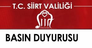 SİİRT VALİLİĞİ İL UMUMİ HIFZISSIHHA...