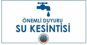 5-10 Haziran Tarihleri Arasında İlimizde Kısmi Su Kesintileri Yaşanacak