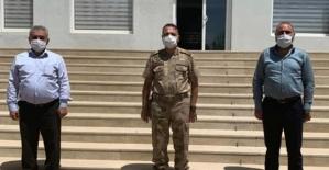 Başkan Şengöz'den Jandarma Alay Komutanı Hüseyin Hilmi Atabay'a Ziyaret