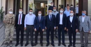 Siirt Valisi Osman Hacıbektaşoğlu, İlk Ziyaretini Eruh İlçesine Yaptı