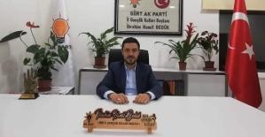 AK Parti İl Gençlik Kolları Teşkilatı#039;ndan...