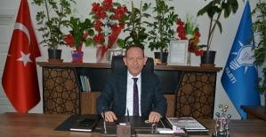 AK Parti Merkez İlçe Başkanı Öner Geyik'in Kurban Bayramı Mesajı