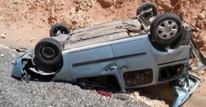 Eruh Yolunda Otomobil Takla Attı: 1'i Ağır 3 Yaralı