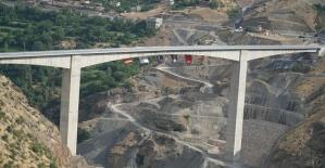 Türkiye#039;nin En Yüksek Köprüsü...