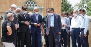 Vali/Belediye Başkan Vekili Osman Hacıbektaşoğlu, Tillo İlçemizi Ziyaret Etti