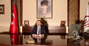 Vali/Belediye Başkan Vekili Osman Hacıbektaşoğlu'nun 24 Temmuz Basın Bayramı Mesajı