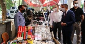 Siirt'te Kovid-19 Tedbirleri  Denetimi Yapıldı