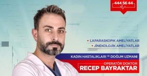 Kadın Hastalıkları ve Doğum Uzmanı Op.Dr.Recep Bayraktar, Özel Siirt Ibni Sina Hastanesinde