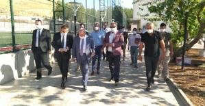 TFF Başkanı Nihat Özdemir, Siirt...