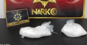 "Siirt'te Polisin Durdurduğu Araçta 523 Gram ""Metamfetamin""Maddesi Ele Geçirdi"