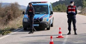 Karantinaya Alınan Şirvan İlçe Merkezinde Giriş ve Çıkışlar Kontrollü Sağlanıyor