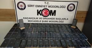 Siirt Emniyeti, Sigara ve Telefon Kaçakçılarına Ağır Darbe Vurdu