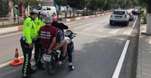 Siirt'te Motosiklet Sürücülerine Yönelik Denetim Yapıldı