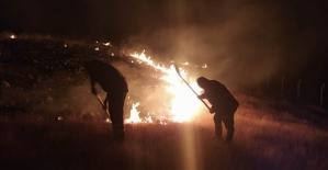 Aynı Anda4 Farklı Alanda Çıkan Yangınlara İtfaiye Ekipleri Müdahale Etti