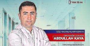 Göz Doktoru Abdullah Kaya,Göz Hastalıkları Hakkında Bilgi Verdi