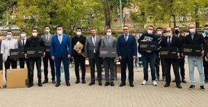 Şirvan'da Okullara Bilgisayar Dağıtıldı