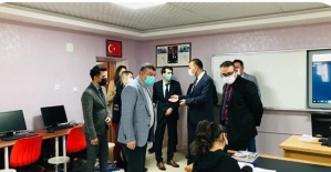İl Millî Eğitim Müdürü Edip, Şirvan Kaymakamı Hasar ve Başkan Cellek'i' Ziyaret Etti