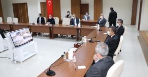 Belediye Başkan V. Hacıbektaşoğlu Başkanlığında, Botan Vadisi Milli Parkı Alanının Geleceği Masaya Yatırıldı