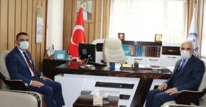 Vali Hacıbektaşoğlu'ndan Kurum Ziyaretleri