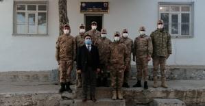 Kaymakam Tunç, Çelikli Jandarma Karakol Komutanlığını Ziyaret Etti