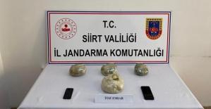 Kurtalan'da Düzenlenen Uyuşturucu Operasyonunda, 2 Kilo 600 Gram Toz Esrar Ele Geçirildi