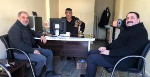 Dilaver Tanık, Büromuzu Ziyaret Etti