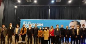 AK Parti Siirt Kadın Kolları Başkanlığına Av. Ayşe Ekinci Seçildi