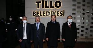 Bakan Kasapoğlu, Tillo ve Veysel Karaniyi Ziyaret Etti