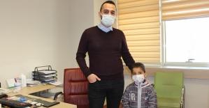 5 Yaşındaki Çocuk Hastaya İlk Defa...