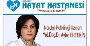 Yrd. Doç Dr. Ayfer Ertekin, Koronavirüsün Nörolojik Etkileri Hakkında Bilgi Verdi