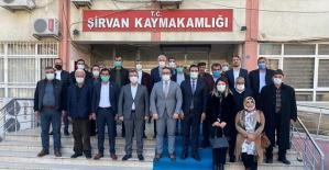 AK Parti İl Başkanı Av. Ekrem Olgaç Şirvan İlçemizi Ziyaret Etti