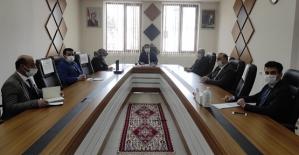 """Baykan'da """"2021 Yılı Yunus Emre ve Türkçe Yılı"""" Etkinlikleri Koordinasyon Toplantısı Yapıldı"""
